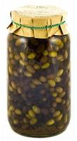 Маслины Таджаски с зеленью в оливковом масле Э/В Frantoio di Sant'Agata d'Oneglia, 3 кг