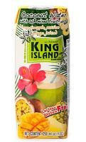 Кокосовая вода с фруктовым соком (ананас, маракуйя, манго) King Island, 250 мл