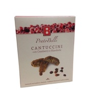 Печенье Кантуччи с миндалем и клюквой из Тосканы, Biscottificio Belli, 100 г