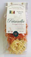 Макаронные изделия ручной работы Тальятелле (трёхцветные) Paisanella, 250 г