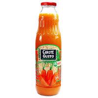 Морковный нектар Carote Gusto в стеклянной бутылке, 750 мл