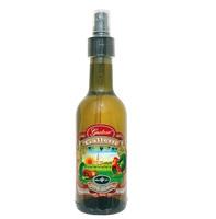 Уксус белый винный 5% из Модены с добавлением виноградного сока Galletti в стеклянной бутылке со спреем, 250 мл