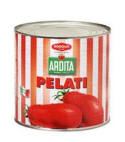 Томаты очищенные целые Пелати Ардита Rodolfi Mansueto в жестяной банке, 2.55 кг
