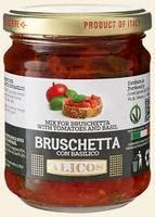 Брускетта по-сицилийски с базиликом в оливковом масле Salemi Pina, 180 г