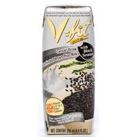 Молоко из коричневого риса с экстрактом черного кунжута V-FIT, 250 мл