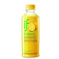 """Освежающий фруктовый напиток """"Лимонад Сорренто"""" с лимонным соком и мякотью апельсина Fruitamin, 280 мл"""