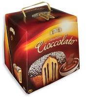 Кулич рождественский Панеттоне с шоколадным кремом, Zaghis, 750 г