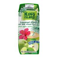 Кокосовая вода с фруктовым соком (лайм, гуава, яблоко) King Island, 250 мл