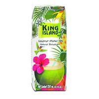 100% Кокосовая вода (Coconut water) без сахара King Island, 330 мл