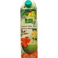 100% Кокосовая вода (Coconut water Amarica) без сахара King Island, 1000 мл