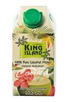 100% Кокосовая вода (Coconut water) без сахара King Island, 500 мл