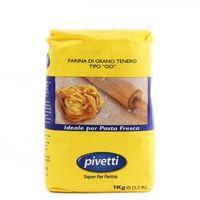 Мука пшеничная из мягких сортов типа 00 для свежей пасты Molini Pivetti, 1 кг