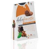 Калабрийское печенье Бискотти с шоколадом и лесным орехом, Dolce Fraietta, 200 г