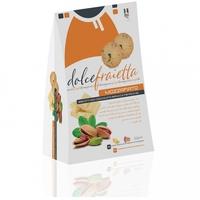 Калабрийское печенье Моззафиато с белым шоколадом и фисташками Сицилии, Dolce Fraietta, 200 г