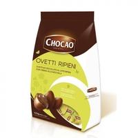 Яйца шоколадные Чокао из молочного шоколада с ореховым кремом, Vergani, 125 г