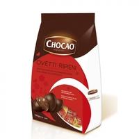 Яйца шоколадные Чокао из шоколада фондю с ореховым кремом, Vergani, 125 г
