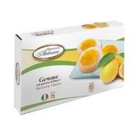 Печенье песочное Драгоценные камни с конфитюром из лимона, Dolciaria Ambrosiana, 150 г