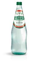 Минеральная вода слабогазированная Uliveto в стеклянной бутылке, 1 л