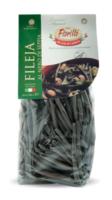 Макаронные изделия ручной работы Филеи с чернилами каракатицы Pastificio Fiorillo, 500 г