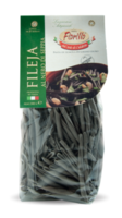 Макаронные изделия ручной работы Филеи с чернилами каракатицы, Pastificio Fiorillo, 500 г