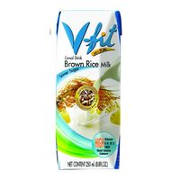Молоко из коричневого риса без сахара V-FIT, 250 мл