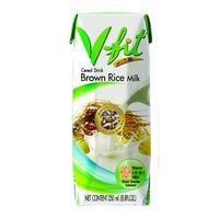 Молоко из коричневого риса с сахаром V-FIT, 250 мл