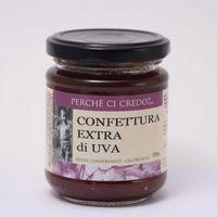 Конфитюр Экстра из винограда Perche Ci Credo, 220 г (Италия)